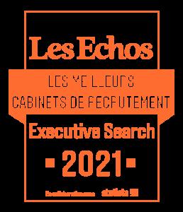Enquête des Echos «meilleur cabinet de recrutement en France »